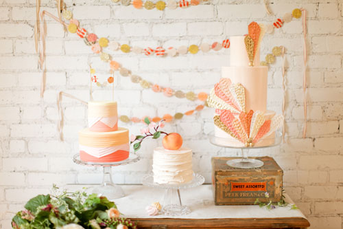Peach-Topped-Wedding-Cake-2
